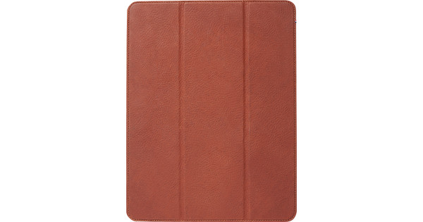 Decoded Leather Slim Cover 12.9'' iPad Pro (2018) Book Case Bruin