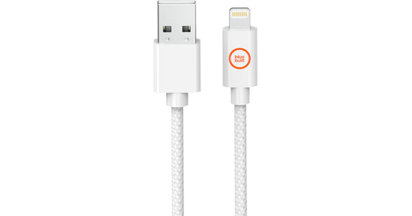 BlueBuilt Lightning to USB-A Cable White 1.5m