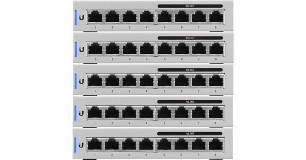 Ubiquiti Unifi switch 8 5-pack