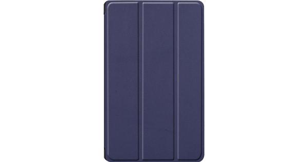 Just in Case Smart Tri-Fold Huawei MediaPad M6 8.4 Inch Book Case Blauw