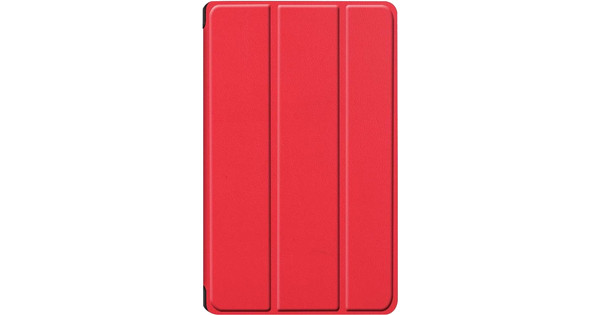 Just in Case Smart Tri-Fold Huawei MediaPad M6 8.4 Inch Book Case Rood