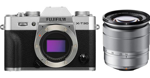 Fujifilm X-T30 Zilver + XC 16-50mm f/3.5-5.6 OIS II Zilver