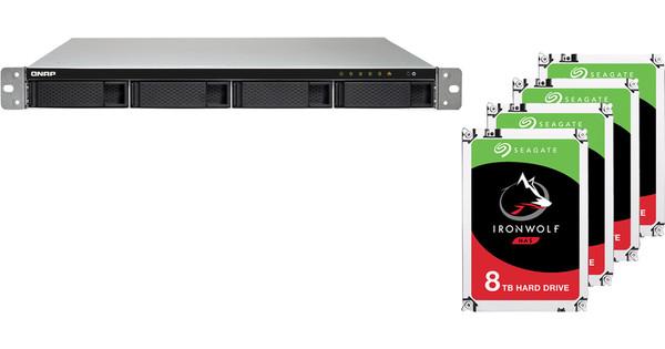 QNAP TS-453BU-RP-4G + 4x 8TB