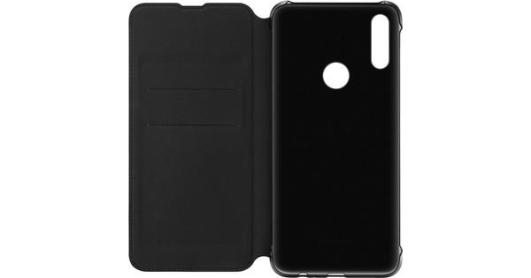 Huawei P Smart Z Flip cover Book case Zwart