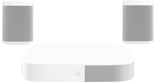 Sonos Playbase 5.0 + One (x2) White