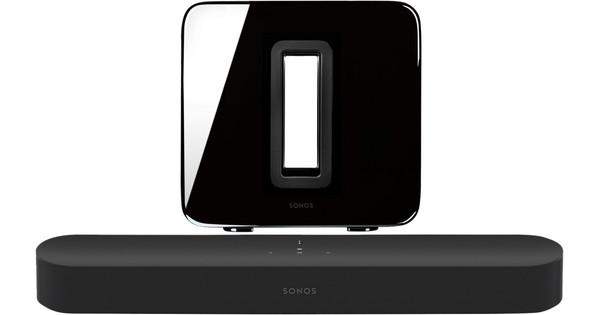 Sonos Beam 3.1 + Sub Black