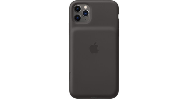Apple iPhone 11 Pro Max Smart Battery Case met Draadloos Opladen Zwart