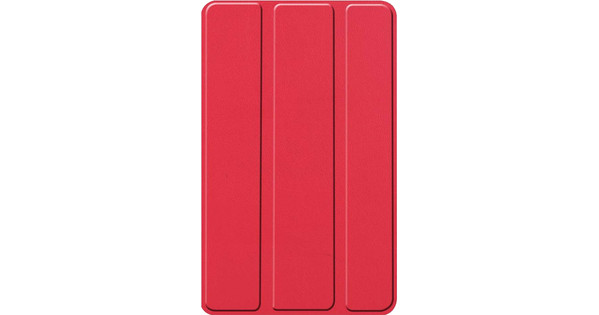Just in Case Smart Tri-Fold Lenovo Tab M7 Book Case Rood