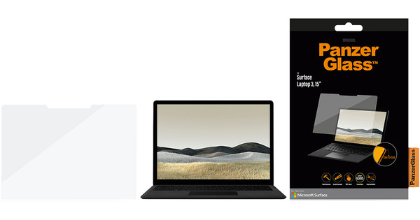 "PanzerGlass Microsoft Surface Laptop 3 15"" Screenprotector Gehard Glas"
