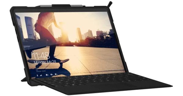 UAG Metropolis Surface Pro X Book Case Blauw