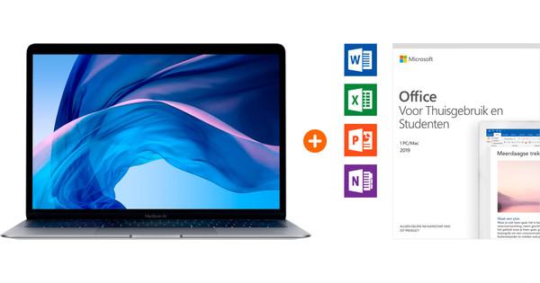 Apple MacBook Air Space Gray (2020) + Microsoft Office 2019