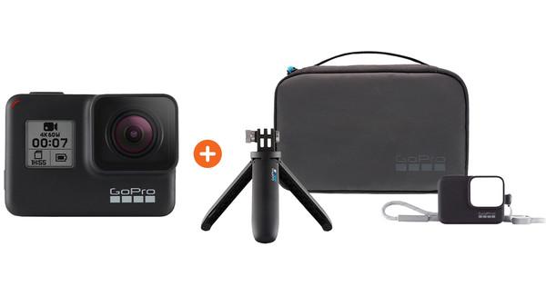 GoPro HERO 7 Black - Travelkit Basic