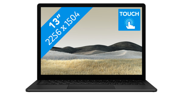 "Microsoft Surface Laptop 3 13"" i7 - 16 GB - 512 GB Black"