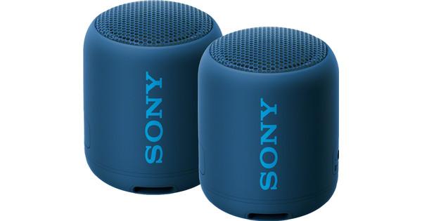 Sony SRSXB12 Duopack Blauw