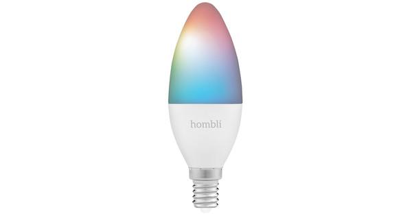 Hombli Smart Bulb E14 dimbaar wit en kleur