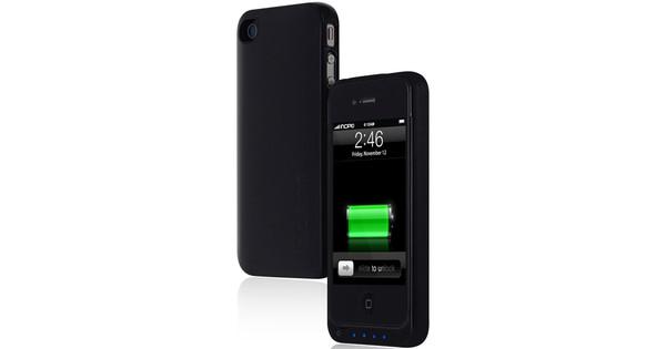 Incipio OffGrid Battery Case Black iPhone 4/4S + Thuislader