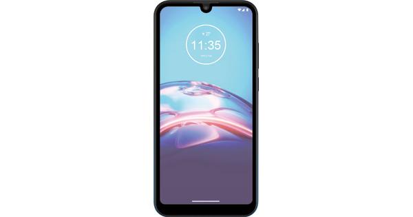 Azuri Rinox Case Friendly Motorola Moto E6s Screenprotector Glas Zwarte Rand