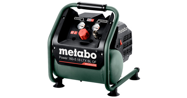 Metabo Power 160-5 18 LTX BL OF (without battery)