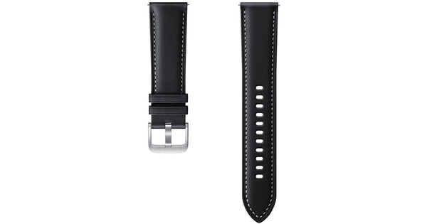 Samsung Leather Strap Black 22mm