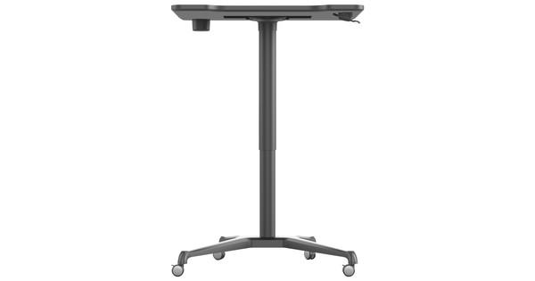 Worktrainer Single Leg Desk Zwart Zit Sta Bureau