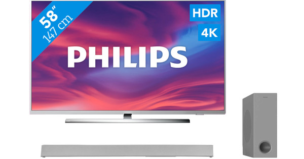 Philips The One (58PUS7304) - Ambilight + Soundbar