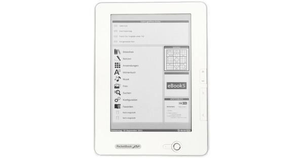 Pocketbook 912 e-Reader White + Thuislader + Case