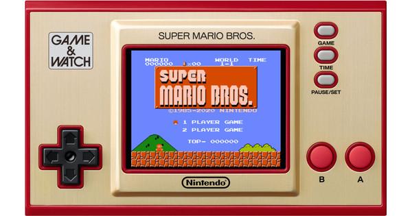 Game & Watch Console Super Mario Bros
