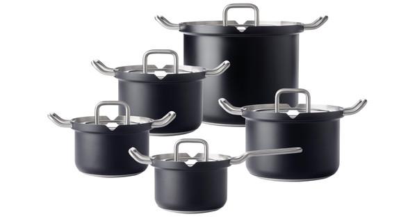 BK-Q-Linair Master Glass Black 5-piece Set
