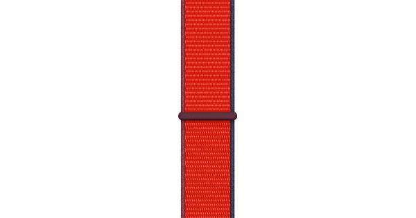 Apple Watch 38/40mm Nylon Sport Loop Watch Strap RED