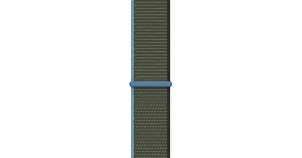 Apple Watch 42/44mm Nylon Sport Loop Watch Strap Inverness Green