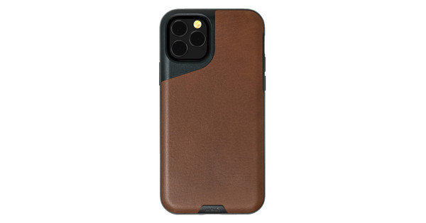 Mous Contour Apple iPhone 11 Pro Max Back Cover Leather Brown