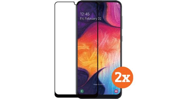 Azuri Tempered Glass Samsung Galaxy A50 Screenprotector Duo Pack