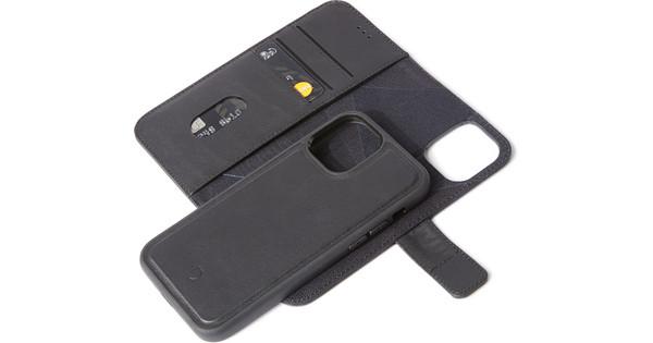 Decoded Apple iPhone 12 / 12 Pro 2-in-1 Case Leer Zwart