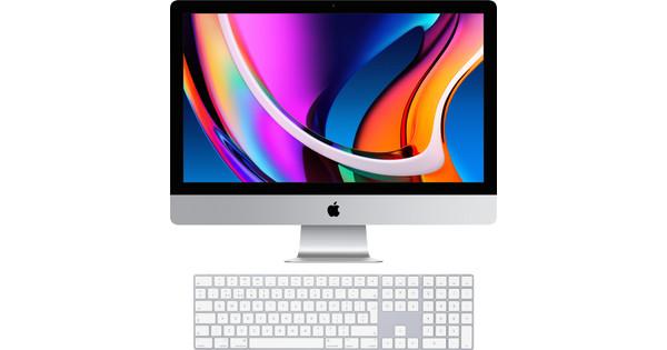 """Apple iMac 27"""" (2020) MXWV2N/A + Magic Keyboard met numeriek toetsenblok"""