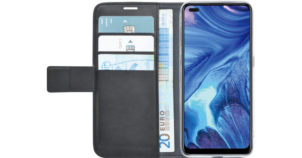 Azuri Wallet OPPO Reno4 Book Case Black