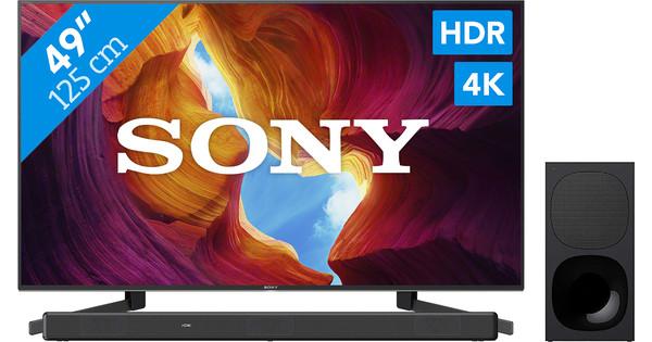 Sony KD-49XH9505 + Soundbar