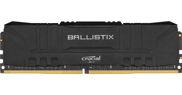 Crucial Ballistix 8GB 3600MHz DDR4 DIMM CL16 Black (1x8GB)