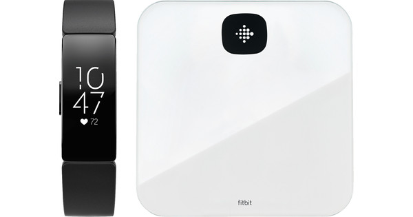 Fitbit Inspire HR Black with Fitbit Scale