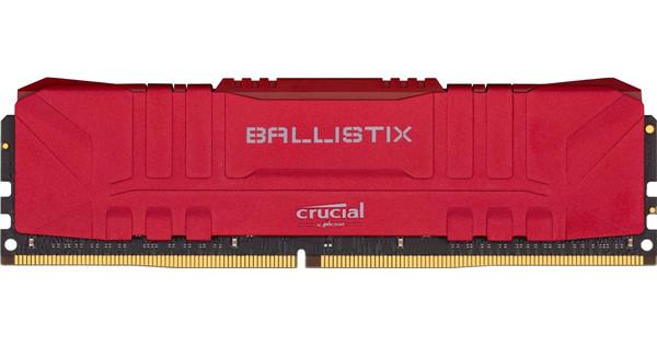 Crucial Ballistix 8GB 3200MHz DDR4 DIMM CL16 Red (1x8GB)