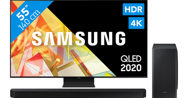 Samsung QLED 55Q95T + Soundbar