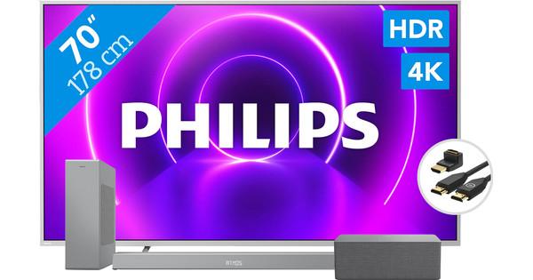 Philips 70PUS8505 + Soundbar + Wifi speaker + HDMI kabel