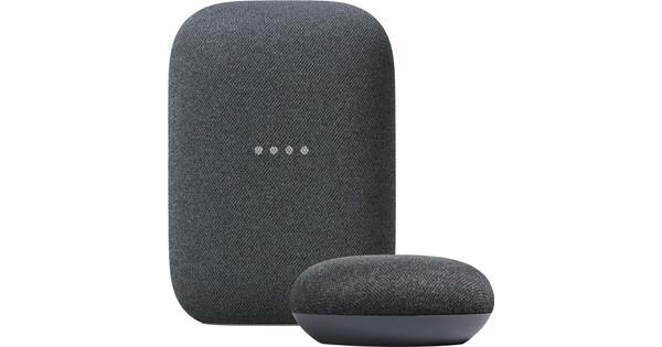 Google Nest Audio Charcoal + Nest Mini Charcoal