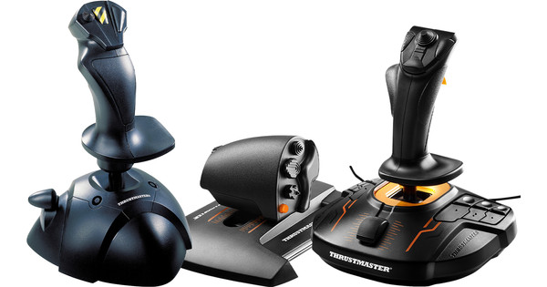 Thrustmaster T.16000M FCS Hotas + Thrustmaster USB Joystick