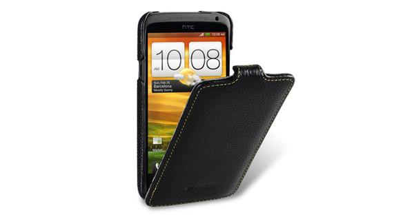 Melkco Leather Case HTC One X / Plus Zwart