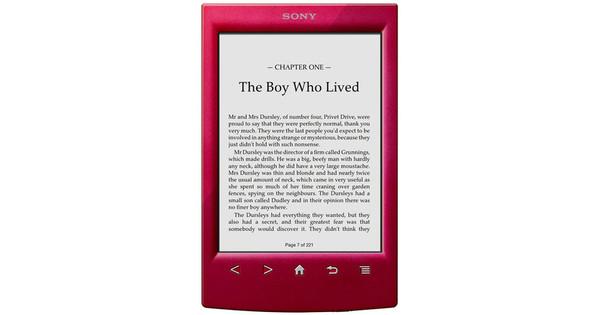 Sony PRS-T2 + Thuislader + Light Case