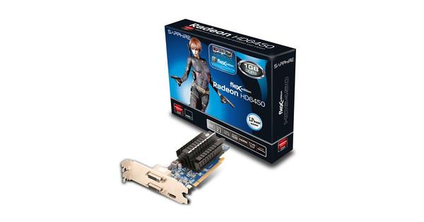 Sapphire Flex HD 6450 1GB DDR3