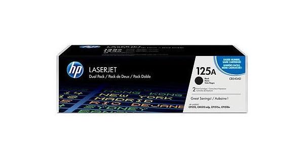 HP 125AD LaserJet Toner Zwart Dual Pack (CB540AD)