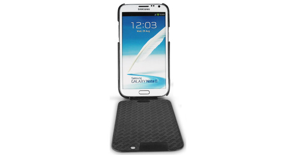 Noreve Tradition Leather Case Samsung Galaxy Note 2 Black