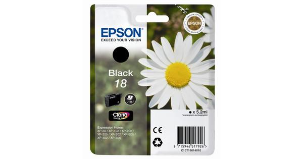 Epson 18 L Ink cartridge Black C13T18014010