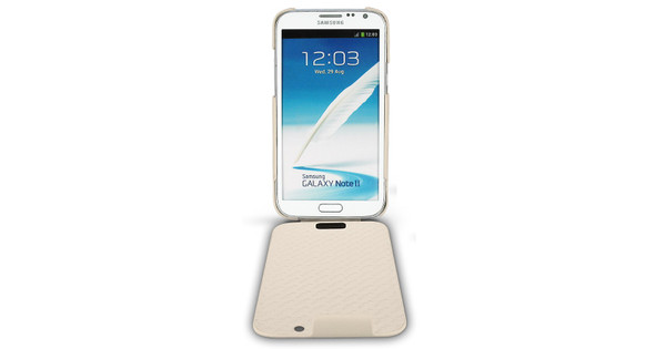 Noreve Tradition Leather Case Samsung Galaxy Note 2 Beige